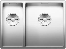 Кухонная мойка BLANCO - CLARON 340-180-U нержсталь зеркальная полировка (521610)