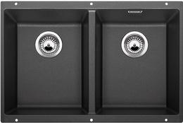 Кухонная мойка под столешницу BLANCO - Subline 350/350-U антрацит (523574)