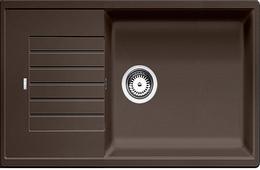 Гранитная кухонная мойка BLANCO - Zia XL 6 S compact - кофе (523282) (в наличии) ID:NL015884