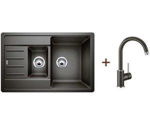 Кухонная мойка BLANCO - 521307M2 Комплект Legra 6S Compact Silgranit кофе + Mida кофе (521307 + 524208)