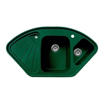 Кухонная мойка GRAN-STONE - GS 14K 305 зеленый