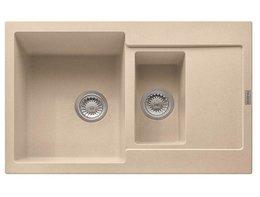 "Кухонная мойка FRANKE - MRG 651-78 3,5"" вент-авт бежевый (114.0198.348)."