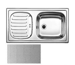 Кухонная мойка BLANCO - FLEX mini нерж сталь декор (512032)