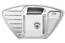 Кухонная мойка BLANCO - LANTOS 9E-IF полированная нерж сталь (516277)