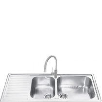 Кухонная мойка SMEG - LG116S-2