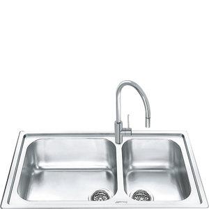 Кухонная мойка SMEG - LGM862-2