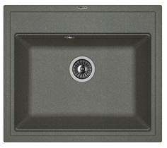 Кухонная мойка FLORENTINA - Липси 600 черный FSm