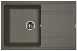 Кухонная мойка FLORENTINA - Липси 780  черный FS