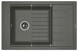 Кухонная мойка FLORENTINA - Липси 780 Р черный FSm