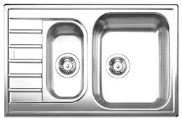 Кухонная мойка BLANCO - LIVIT 6 S Compact нерж сталь полированная (515117)