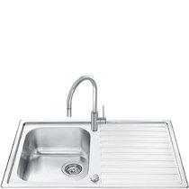 Кухонная мойка SMEG - LLR861-2