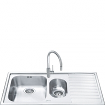 Кухонная мойка SMEG - LM102D-2