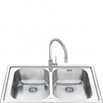 Кухонная мойка SMEG - LM862-2