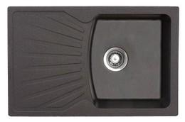 Кухонная мойка ORIVEL - QUADRO PLUS 2D черный