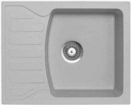 Кухонная мойка ORIVEL - QUADRO PLUS 2D серый