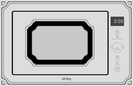 Микроволновая печь KORTING - KMI 825 RGW