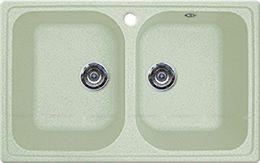 Кухонная мойка GRAN-STONE - GS 15 303 салатовый