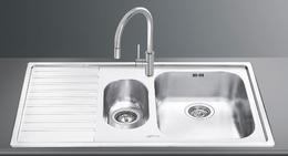 Кухонная мойка SMEG - LM102S (в наличии) ID:SM011568