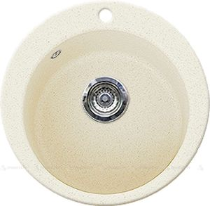 Кухонная мойка GRAN-STONE - GS 05 402 ваниль