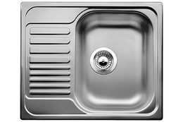 Кухонная мойка BLANCO - TIPO 45 S mini нерж сталь Декор (516525)