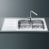 Кухонная мойка SMEG - LE116S-2