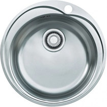 """Кухонная мойка из нержавеющей стали FRANKE - RON 610-41 3.5"""" кругл б/в (101.0000.561) (в наличии) ID:FR015356"""