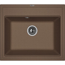 Кухонная мойка FLORENTINA - Липси 600 мокко FSm