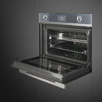Духовой шкаф с СВЧ SMEG - SF4102MCS