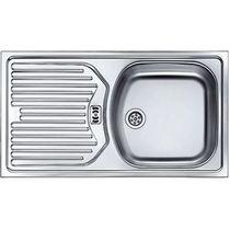 """Кухонная мойка из нержавеющей стали FRANKE - ETN 614 1.5"""" обор. пер. б/в (101.0060.162) (в наличии) ID:FR015627"""