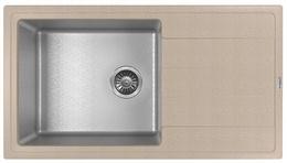 Кухонная мойка FLORENTINA - Комби 860 песочный FG