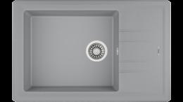 Кухонная мойка TEKA - STONE 60 S-TG 1B 1D METALLIC GREY