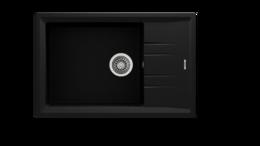 Кухонная мойка TEKA - STONE 60 S-TG 1B 1D METALLIC BLACK