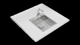 Кухонная мойка TEKA - FLEXLINEA RS15 40 40 SQ