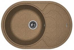 Кухонная мойка FLORENTINA - Родос 760 коричневый FSm