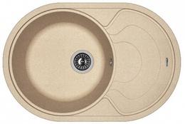 Кухонная мойка FLORENTINA - Родос 760 песочный FSm