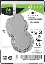 Жесткий диск SEAGATE BARRACUDA -  ST500LM034