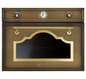 Духовой шкаф с СВЧ SMEG - SF4750MCOT