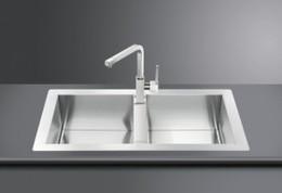 Кухонная мойка SMEG - LQR862F-2