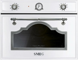 Духовой шкаф с паром SMEG - SF4750VCBS