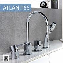 Смеситель для ванны и душа - LeMark - LM3241C ATLANTISS