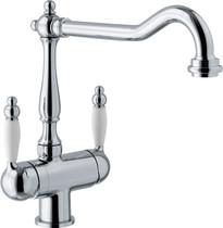 Кухонный смеситель FRANKE - Old England Clear Water с фильтрацией  хром (115.0370.682)