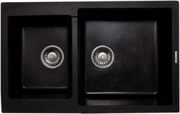 Кухонная мойка LAVA - D.3 BASALT черный