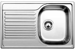 Кухонная мойка BLANCO - TIPO 45 S Compact нерж сталь матовая (513441)