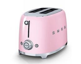 Тостер розовый SMEG - TSF02PKEU (в наличии) ID:SM09908