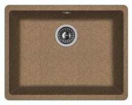 Кухонная мойка FLORENTINA - Вега 500 коричневый FS