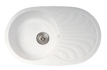 Кухонная мойка ORIVEL - VENERA PLUS белый