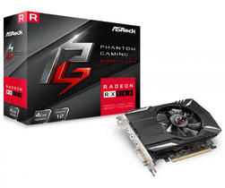 Видеокарта ASROCK - RX560 Phantom Gaming