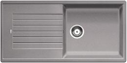 Гранитная кухонная мойка BLANCO - Zia XL 6 S compact - аллюметаллик (523275) (в наличии) ID:NL014378